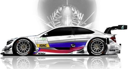 Vitaly Petrov - Mercedes AMG Classe C - Coupé #19